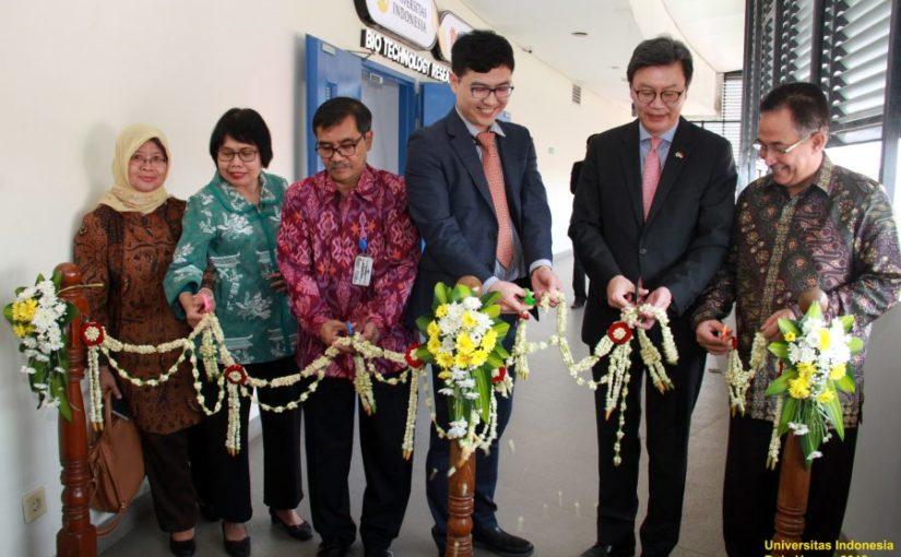 Pusat Penelitian Bioteknologi Berbasis Produk Biosimiliar Pertama di Indonesia Resmi Dibuka di UI