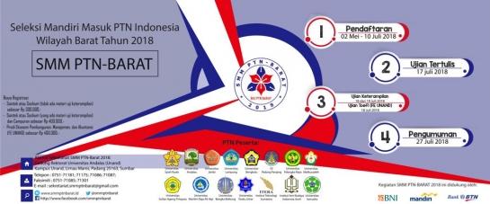 SMMPTN Universitas Andalas Telah Dibuka, Yuk Buruan Daftar!