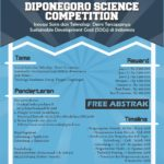 "Lomba Karya Tulis Ilmiah ""Diponegoro Science Competition 2018"""