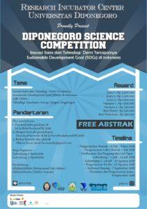 lomba-karya-tulis-ilmiah-diponegoro-science-competition-2018