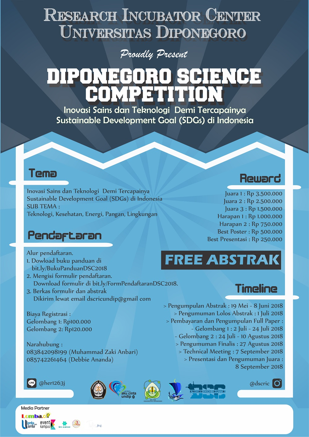 lomba-karya-tulis-ilmiah-diponegoro-science-competition-2018