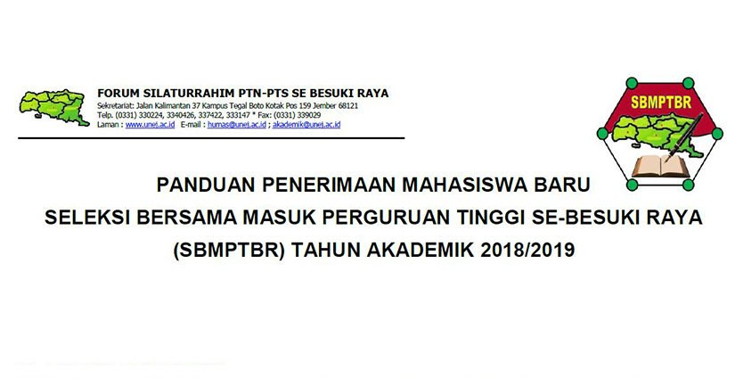 Pendaftaran Jalur SBMPTBR Dibuka, Ayo Daftar!