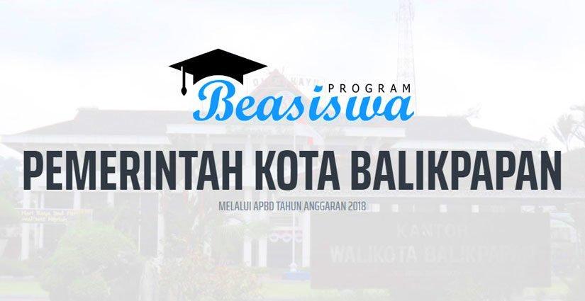 Yuk Daftar Beasiswa Stimulan Kota Balikpapan Tahun 2018!