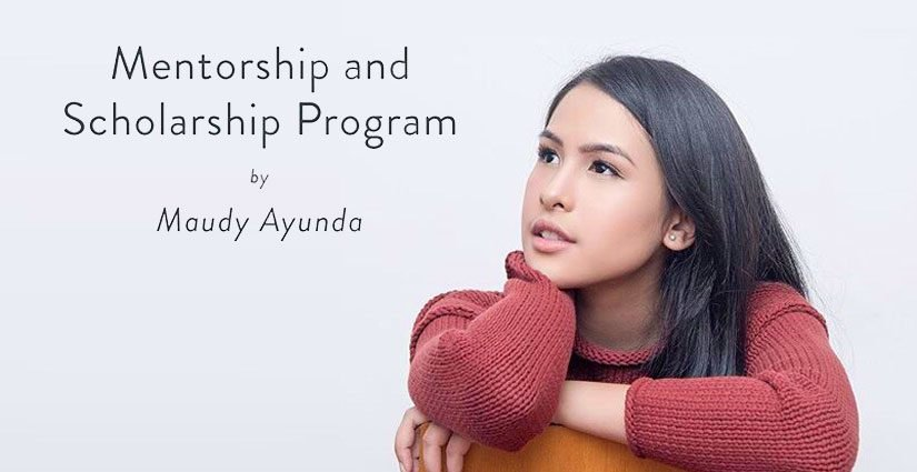 Maudy Ayunda Buka Pendaftaran Beasiswa S1 Bagi Lulusan SMA/Sederajat