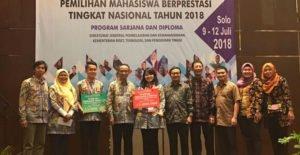 Mahasiswi UI Jadi Pemenang Pilmapres Nasional 2018