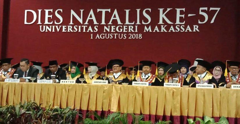 Universitas Negeri Makassar Gelar Puncak Dies Natalis ke-57