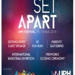 UPH Festival 25 – Agustus 2018