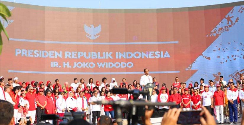 Ratusan Ribu Mahasiswa Sukseskan Harmoni Indonesia 2018
