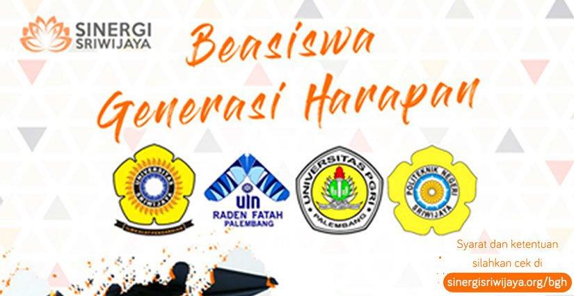 Beasiswa Generasi Harapan Bagi Mahasiswa Berprestasi Di Sumatera Selatan
