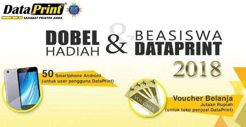 Pendaftaran Beasiswa DataPrint Periode 2 Dibuka!