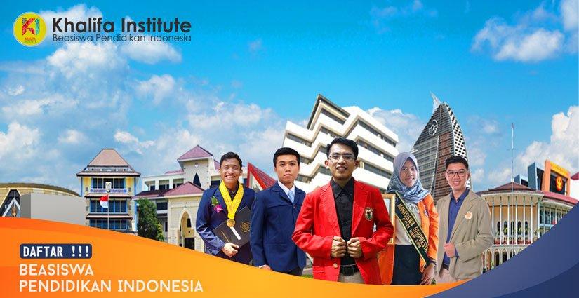 Khalifa Institute Buka Pendaftaran Beasiswa Pendidikan Indonesia
