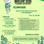 Olimpiade Biologi Nasional 2018