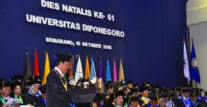 Universitas Diponegoro Gelar Dies Natalis Ke-61
