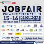 USB Job Fair 2018 – GRATIS