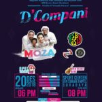 "D' Compani with fantastic Guest Star is ""MOZA band"""