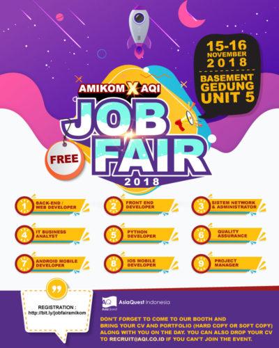 job-fair-amikom-2018