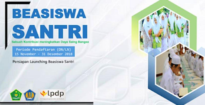 LPDP Buka Pendaftaran Beasiswa S2 – S3 Khusus Santri