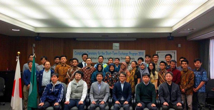 20 Mahasiswa FT UGM Ikuti Program Pertukaran Mahasiswa Ke Ehime University