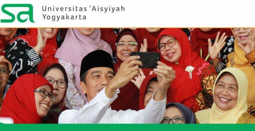 Jokowi Tinjau Perkembangan Kampus UNISA Yogyakarta