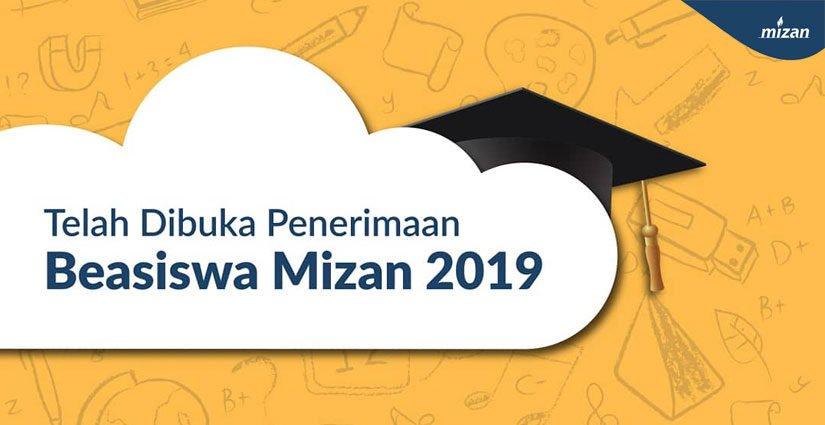 Mau Tugas Akhirmu Dibiayai? Ikut Penerimaan Beasiswa Mizan 2019 Yuk!