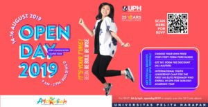 Dapatkan Potongan Harga Pendaftaran Di Open Day UPH FESTIVAL 2019
