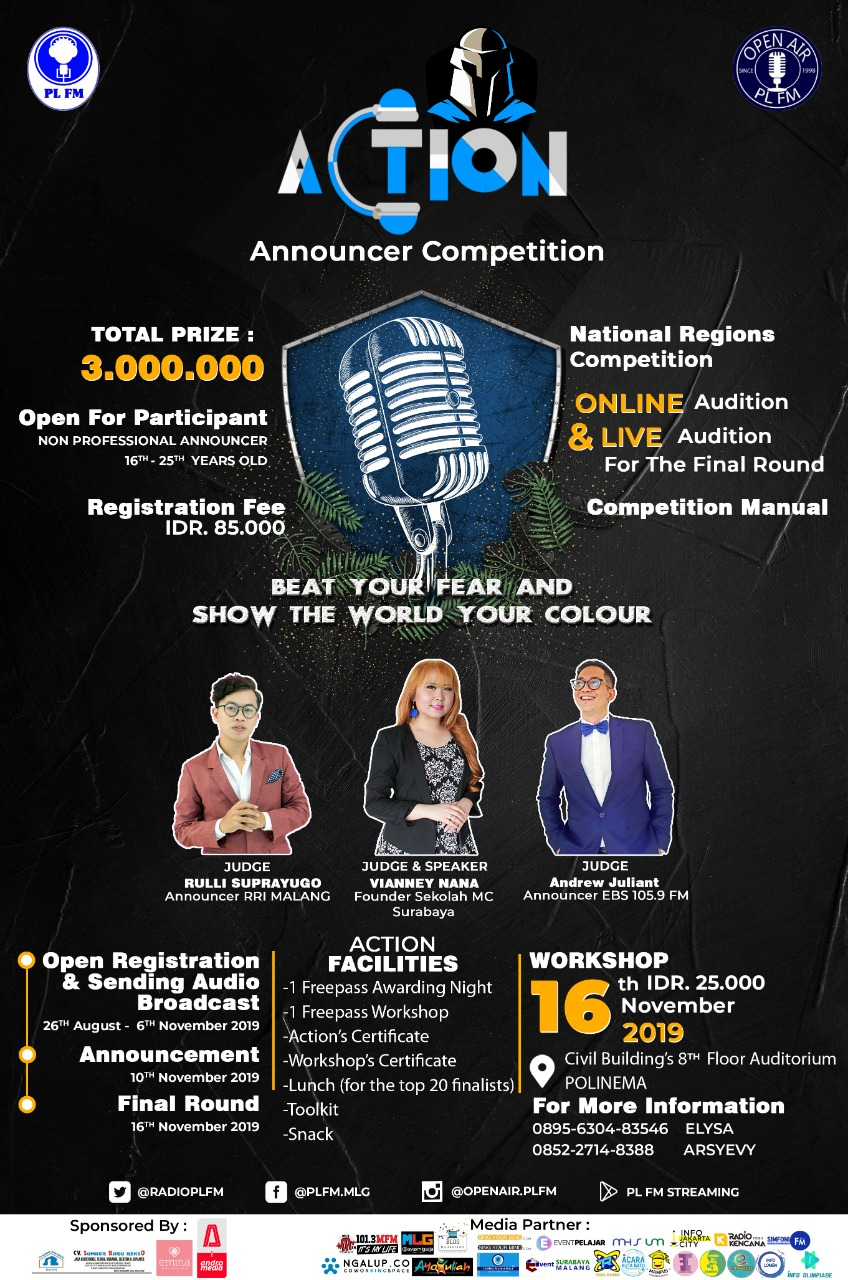National Region Announcer Competition