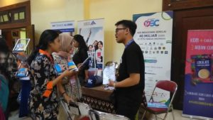 Sosialisasi Beasiswa OSC Medcom.id di Yogyakarta