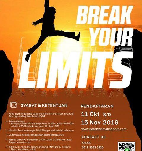 Pendaftaran Beasiswa Mahaghora 2019 Dibuka!