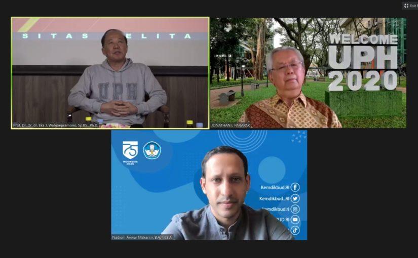 UPH hadirkan Menteri Pendidikan dan Kebudayaan Republik Indonesia